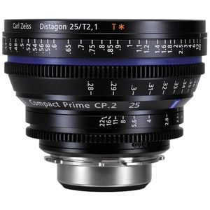 ZEISS COMPACT PRIME CP.2, PL  T2.1/25mm