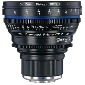 ZEISS COMPACT PRIME CP.2, PL  T2.1/28mm